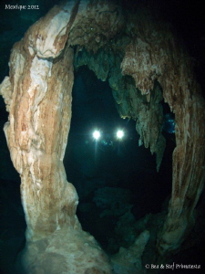 Dos Ojos cenote. by Bea &amp; Stef Primatesta 